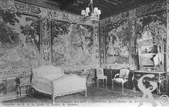 Le château - La chambre des Rois - Tapisseries des Gobelins du XVIIIé siècle.
