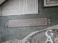 Mosaïque de Blanzy les Fismes - Conservée dans la Maison des Associations.