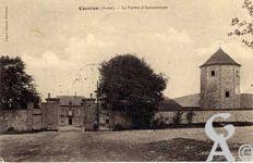 Dans le passé - La ferme d'Aumencourt 1909.