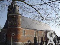 Église fortifiée Saint-Rémi.  - Classée Monument historique depuis 1989.