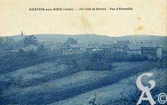 Le passé - Un coin de Barisis, vue sur le village