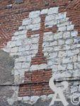 L'église - Façade route de Laon