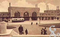 La gare dans le passé - La gare