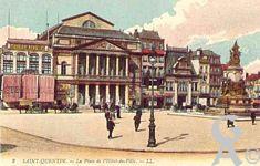 La Place de l'Hôtel de Ville dans le passé - La place de l' Hôtel de Ville