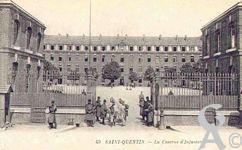 La caserne dans le passé - La caserne du 87éme d'Infanterie