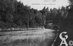 Le canal - L'entrée du souterrain