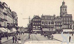 La Place de l'Hôtel de Ville dans le passé - La Place de l'Hôtel de Ville et la rue de la Sellerie