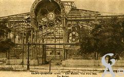 Les Monuments et Edifices en ruines - Les Halles