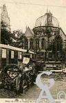 Les Monuments et Edifices en ruines - Vieux Puits - Hôtel de Ville et Tombe du Lieutenant Colonel Boudinot.