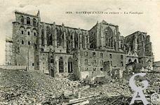 La Basilique en ruines