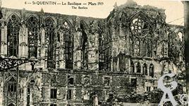 La Basilique en ruines - Mars 1919