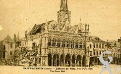 Les Monuments et Edifices en ruines - L'Hôtel de Ville