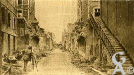 Les rues en ruines - Rue des Glacis