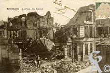 Les Monuments et Edifices en ruines - La Poste - Rue Delatour