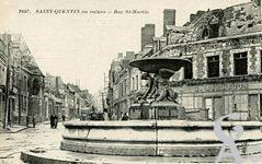 Les rues en ruines - Rue Saint Martin