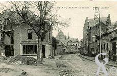 Les rues en ruines - Place Cordier