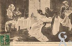 Camille Desmoulins - Camille Desmoulins la veille de son arrestation. ( Tableau de Flameng, à l'Hôtel de Ville).