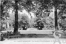 Le Palais de l'horticulture dans le passé - Le jardin d'horticulture
