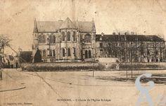La Cathédrale dans le passé - L'Abside de l'église Saint-léger