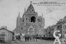 Les églises - Eglise Saint Eloi et gare de la voie de 60