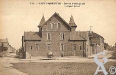 Les écoles dans le passé - école Paringault