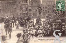 Les fêtes - La 36ème fête fédérale de gymnastqie (mai 1910)