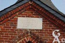 L'Oratoire - A.N.D. de Bon Secours. Monument de reconnaissance de la jeunesse d'Ohis après la Guerre 1870. (10/09/1871).