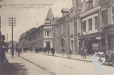 La destruction de la cotonnière - La rue de Mulhouse et
