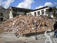 La destruction de la cotonnière