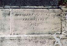 L'église - BRASSART - MARIAGE et Fils, Architectes 1928.