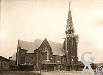 La reconstruction de l'église