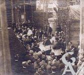 La reconstruction de l'église - Bénédiction et pose de la première pierre de l'église de Jussy - 04 Mai 1924 -
