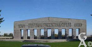 Les monuments de St Quentin - Monument aux Morts - la Ville de St-Quentin à ses fils morts pour la France