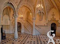 L'intérieur de l'Hôtel de Ville - Hall d'entrée