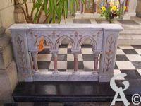 L'église Notre-Dame de Lourdes - Détail de clotûre