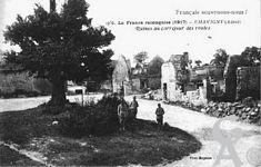 La guerre - La France reconquise (1917) - Ruines du carrefour des routes.