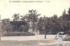 Le Palais de l'horticulture dans le passé - Champs Elysées : kiosque