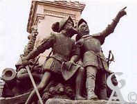 Le monument de 1557 - Coligny