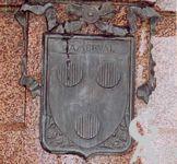 Le monument de 1557 - Le blason des d'Amerval