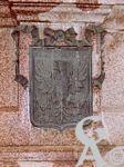 Le monument de 1557 - Le blason de Coligny