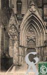 La Cathédrale dans le passé - La Porte latérale.