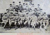 Le 45é R.I - Les Sous-Officiers de carière