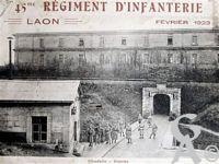 Le 45é R.I - Citadelle - Entrée
