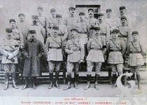 Le 45é R.I - Les officiers - Colonel Schneider - Chef de Bat Larbey - Geoffroy - Joule