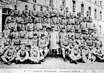 Le 45é R.I - 5éme compagnie - Capitaine Autheman - Lieutenant Hurier