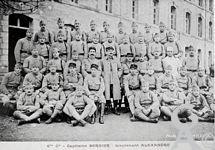 Le 45é R.I - 6éme compagnie - Capitaine Bernier - Lieutenant Aléxandre