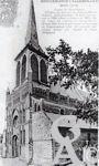 L'église - D'avant 1914, lieu de pélérinage de Saint-Lambert dont elle posséde une relique donnée par l'Église de Liège (Belgique).