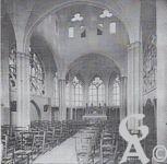 L'église - Vue intérieure de la Chapelle le 22 Octobre 1923.