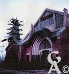 L'église - Saint-Lambert reconstruite en 1987.