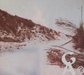 Photos pendant la Guerre - Route de Venderesse dans l'Aisne en 1918